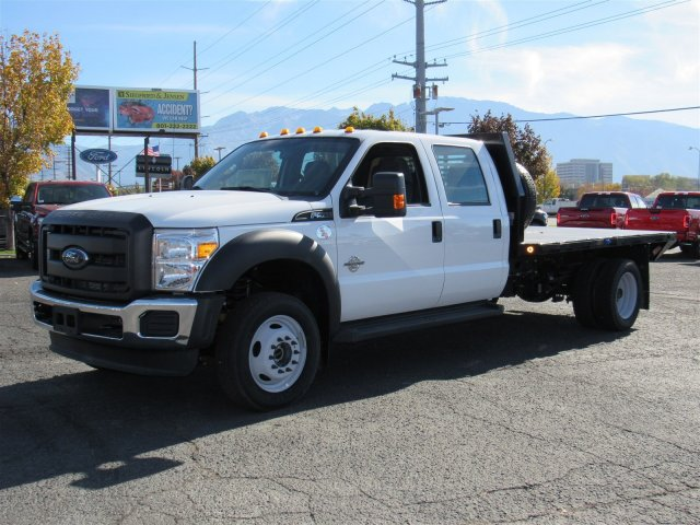 2016 F-550 Crew Cab DRW 4x4, Rugby Platform Body #GEC26740 - photo 8
