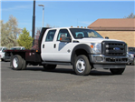 2016 F-550 Crew Cab DRW 4x4, Rugby Platform Body #GEC26740 - photo 1