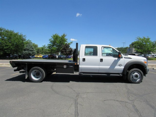 2016 F-550 Crew Cab DRW 4x4, Rugby Platform Body #GEC26743 - photo 3