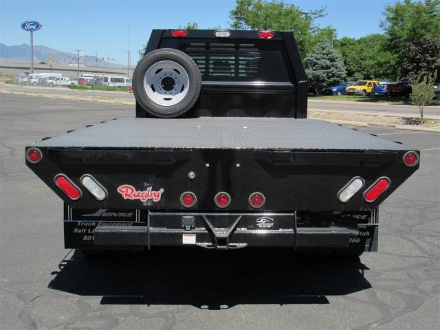 2016 F-550 Crew Cab DRW 4x4, Rugby Platform Body #GEC26743 - photo 4