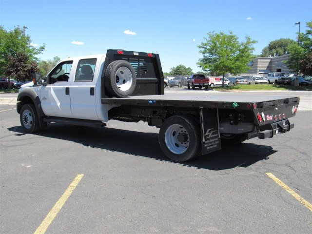 2016 F-550 Crew Cab DRW 4x4, Rugby Platform Body #GEC26743 - photo 6