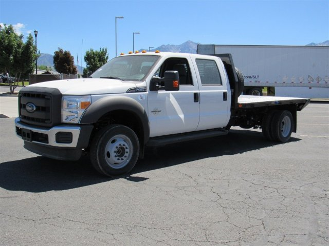 2016 F-550 Crew Cab DRW 4x4, Rugby Platform Body #GEC26743 - photo 7