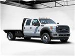 2016 F-550 Crew Cab DRW 4x4, Rugby Platform Body #GEC26743 - photo 1