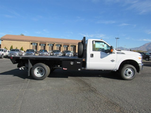 2016 F-350 Regular Cab DRW 4x4, Platform Body #GED03763 - photo 3