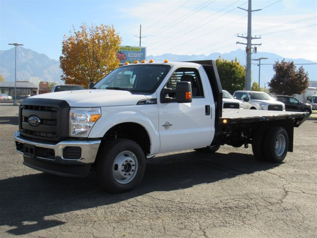 2016 F-350 Regular Cab DRW 4x4, Platform Body #GED03763 - photo 8