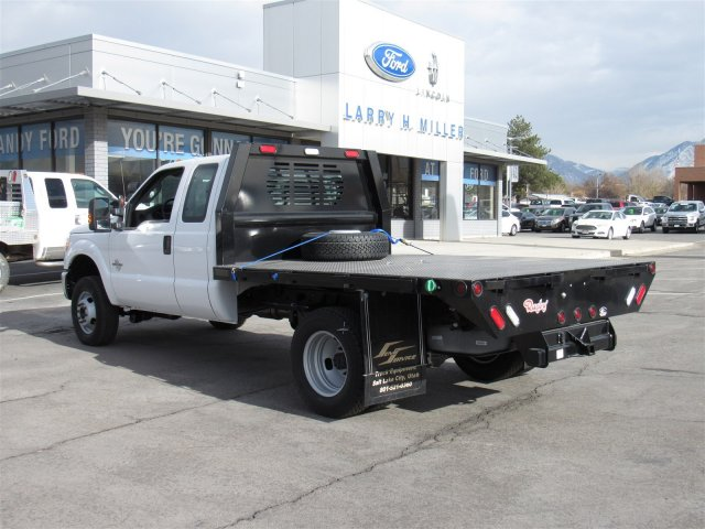2016 F-350 Super Cab DRW 4x4, Rugby Platform Body #GED03768 - photo 2