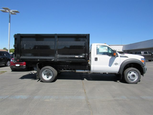 2016 F-550 Regular Cab DRW 4x4, Rugby Landscape Dump #GED42307 - photo 3
