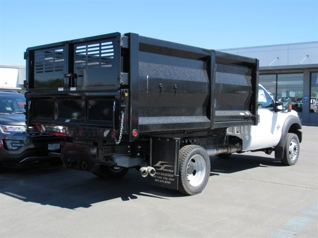 2016 F-550 Regular Cab DRW 4x4, Rugby Landscape Dump #GED42307 - photo 2
