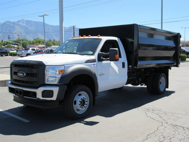 2016 F-550 Regular Cab DRW 4x4, Rugby Landscape Dump #GED42307 - photo 6