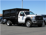 2016 F-550 Regular Cab DRW 4x4, Rugby Landscape Dump #GED42307 - photo 1