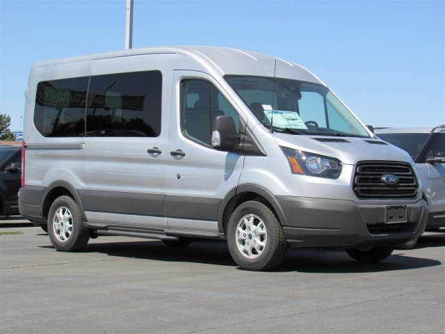 2016 Transit 150 Medium Roof, Passenger Wagon #GKA22043 - photo 3