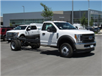2017 F-550 Regular Cab DRW 4x4, Cab Chassis #HEB62089 - photo 1