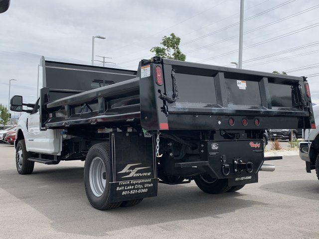 2019 F-350 Regular Cab DRW 4x4,  Rugby Dump Body #KEC47652 - photo 1