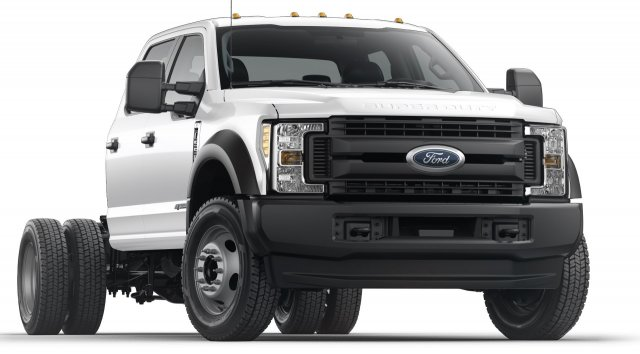 2019 F-550 Crew Cab DRW 4x4,  Rugby Platform Body #KEE14147 - photo 1