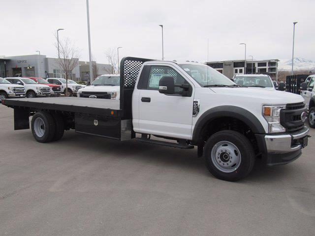 2020 Ford F-600 Regular Cab DRW 4x4, Scelzi Platform Body #LDA14029 - photo 1