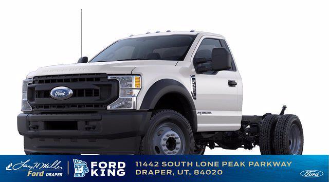2021 Ford F-550 Regular Cab DRW 4x4, Scelzi Platform Body #MDA03102 - photo 1