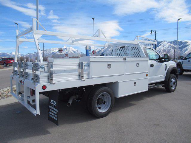 2021 Ford F-550 Regular Cab DRW 4x4, Scelzi Contractor Body #MDA03103 - photo 1