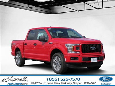 2018 F-150 SuperCrew Cab 4x4,  Pickup #T24889 - photo 1