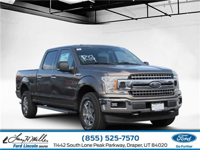 2018 F-150 SuperCrew Cab 4x4,  Pickup #T25065 - photo 1