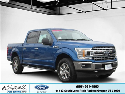 2018 F-150 SuperCrew Cab 4x4, Pickup #T25070 - photo 1