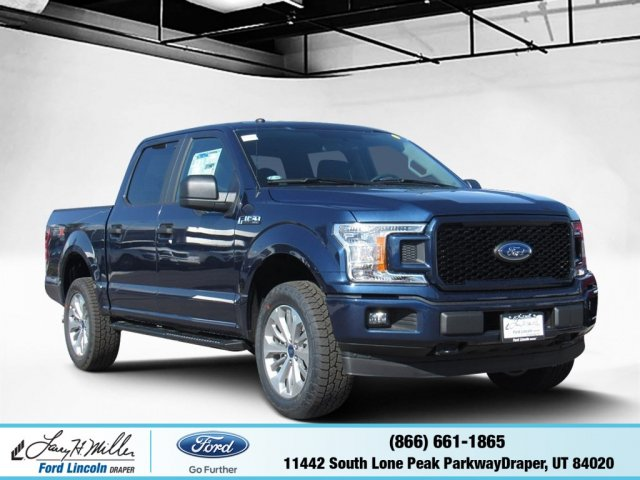 2018 F-150 Crew Cab 4x4 Pickup #T25076 - photo 1