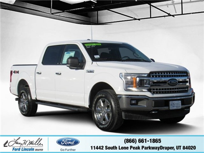2018 F-150 SuperCrew Cab 4x4, Pickup #T25171 - photo 1