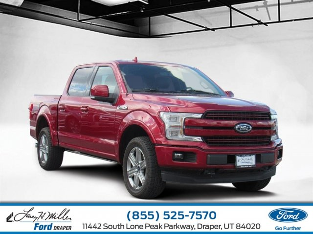 2018 F-150 SuperCrew Cab 4x4,  Pickup #T28305 - photo 1