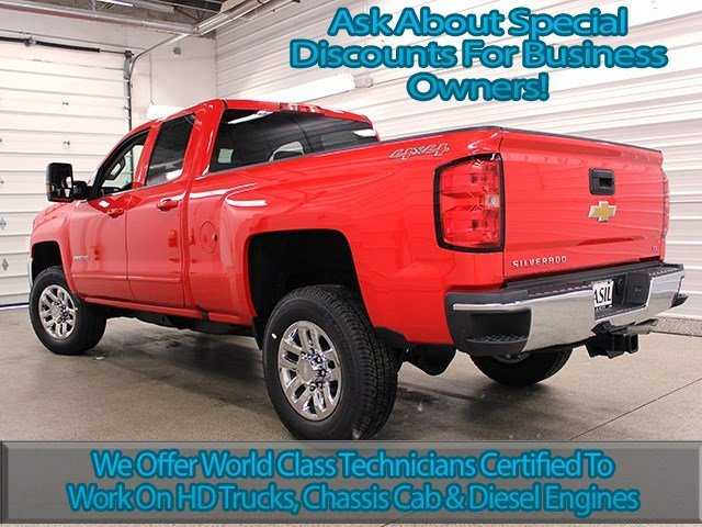 2016 Silverado 2500 Double Cab 4x4, Pickup #16C157T - photo 6
