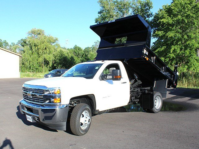 2016 Silverado 3500 Regular Cab 4x4, Rugby Dump Body #16C172T - photo 13