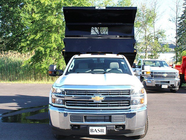 2016 Silverado 3500 Regular Cab 4x4, Rugby Dump Body #16C172T - photo 14