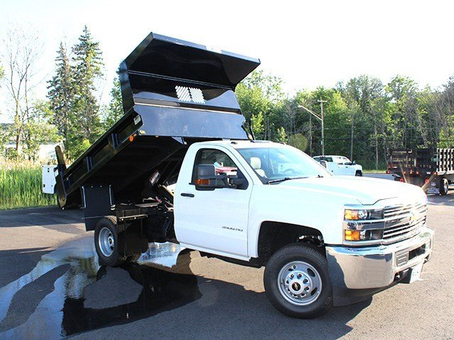 2016 Silverado 3500 Regular Cab 4x4, Rugby Dump Body #16C172T - photo 15