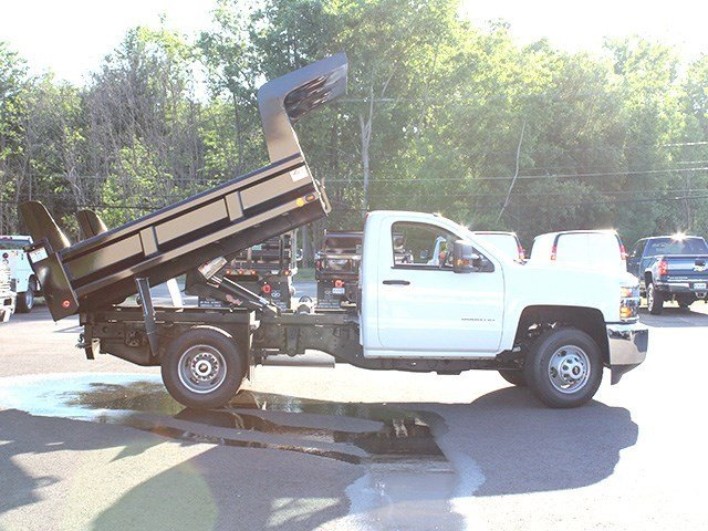 2016 Silverado 3500 Regular Cab 4x4, Rugby Dump Body #16C172T - photo 16