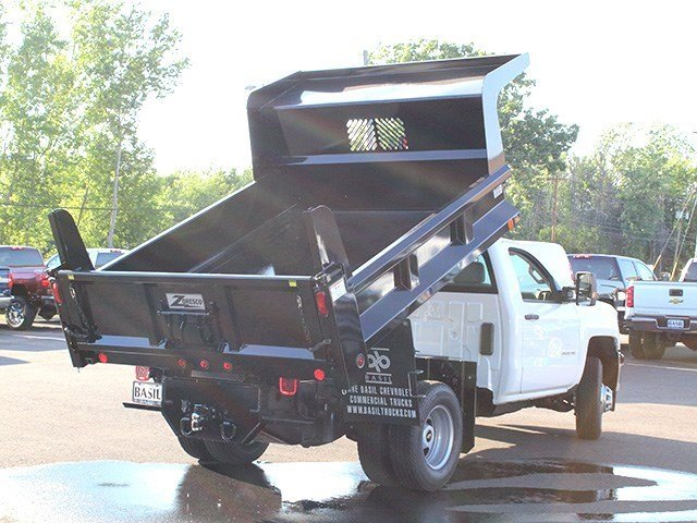 2016 Silverado 3500 Regular Cab 4x4, Rugby Dump Body #16C172T - photo 17