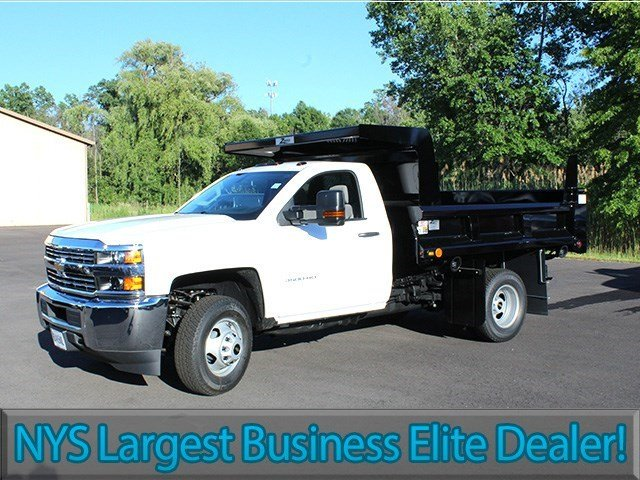2016 Silverado 3500 Regular Cab 4x4, Rugby Dump Body #16C172T - photo 3