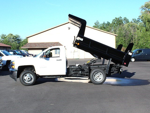 2016 Silverado 3500 Regular Cab 4x4, Rugby Dump Body #16C172T - photo 20