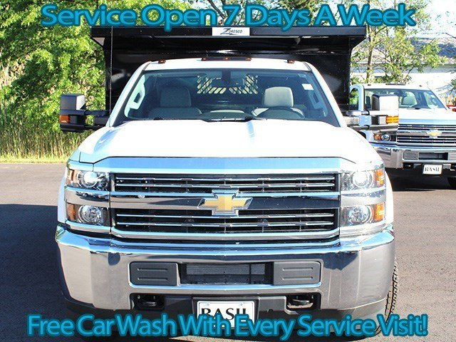 2016 Silverado 3500 Regular Cab 4x4, Rugby Dump Body #16C172T - photo 4