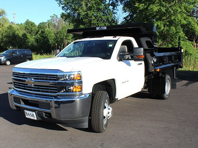 2016 Silverado 3500 Regular Cab 4x4, Rugby Dump Body #16C172T - photo 7