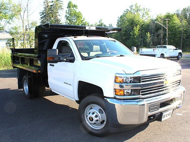 2016 Silverado 3500 Regular Cab 4x4, Rugby Dump Body #16C172T - photo 8