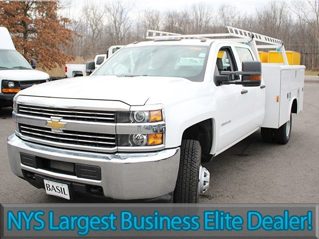 2016 Silverado 3500 Crew Cab 4x4, Reading Service Body #16C232T - photo 4