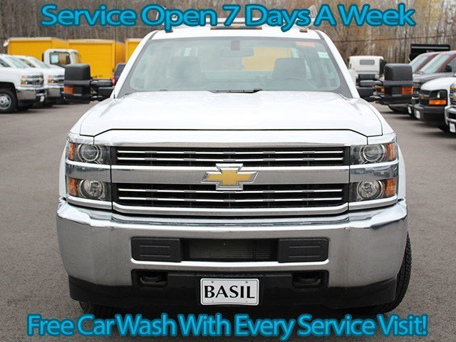 2016 Silverado 3500 Crew Cab 4x4, Reading Service Body #16C232T - photo 5