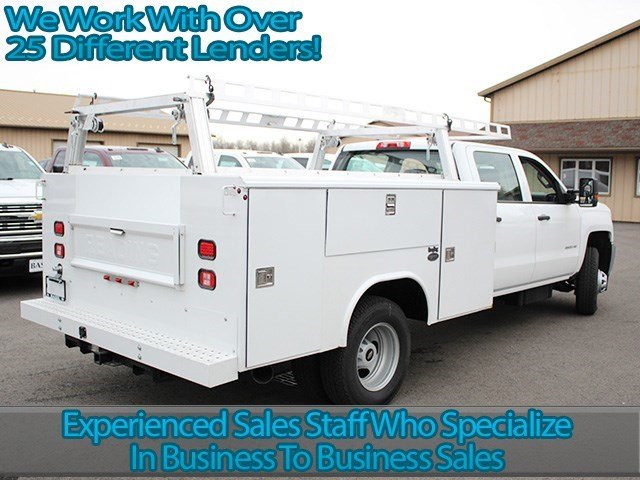 2016 Silverado 3500 Crew Cab 4x4, Reading Service Body #16C232T - photo 2