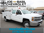 2016 Silverado 3500 Crew Cab 4x4, Reading Service Body #16C232T - photo 1