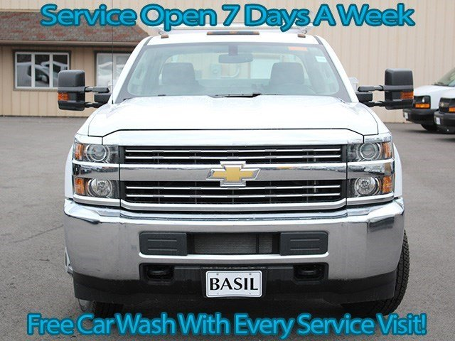 2016 Silverado 3500 Crew Cab 4x4, Reading Service Body #16C233T - photo 4