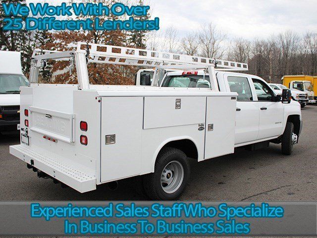 2016 Silverado 3500 Crew Cab 4x4, Reading Service Body #16C233T - photo 2