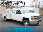 2016 Silverado 3500 Crew Cab 4x4, Reading Service Body #16C233T - photo 1