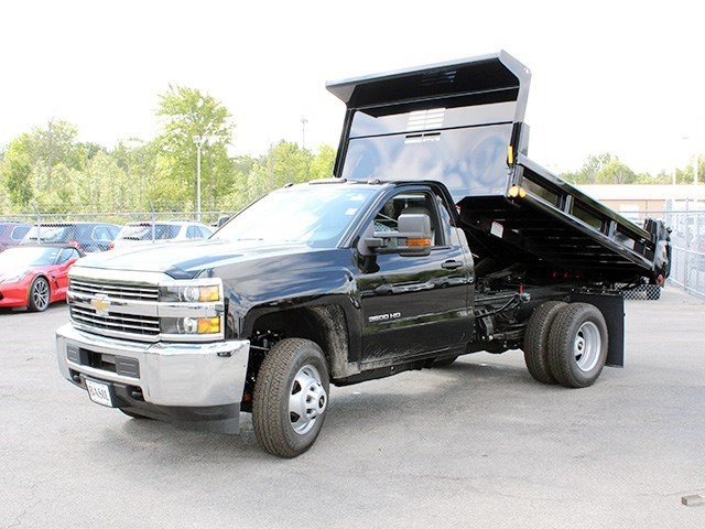 2016 Silverado 3500 Regular Cab 4x4, Air-Flo Dump Body #16C240T - photo 10