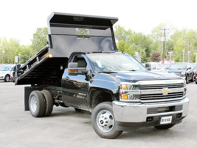 2016 Silverado 3500 Regular Cab 4x4, Air-Flo Dump Body #16C240T - photo 11