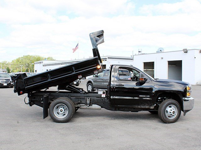 2016 Silverado 3500 Regular Cab 4x4, Air-Flo Dump Body #16C240T - photo 12