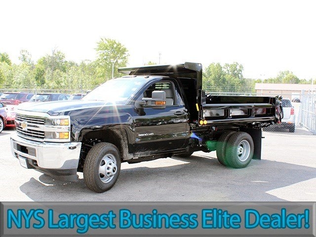 2016 Silverado 3500 Regular Cab 4x4, Air-Flo Dump Body #16C240T - photo 3