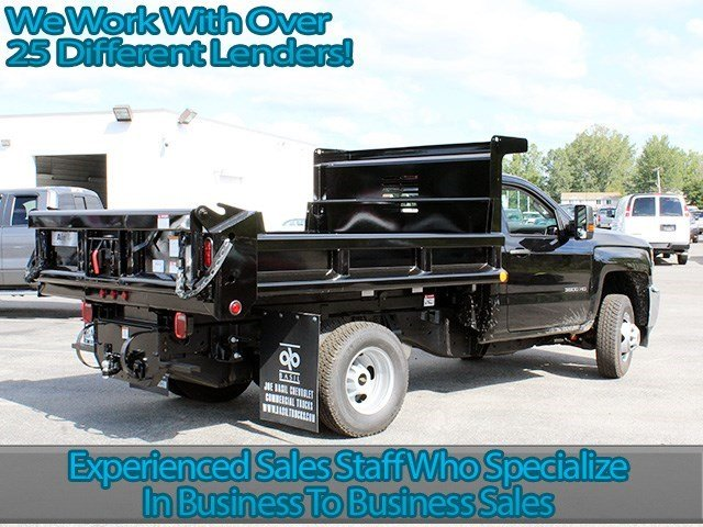 2016 Silverado 3500 Regular Cab 4x4, Air-Flo Dump Body #16C240T - photo 2